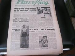RIVISTA BOXE RING 6 MARZO 1958 - Cinema