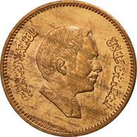 Jordan, Hussein, 5 Fils, 1/2 Qirsh, 1978, SPL, Bronze, KM:36 - Jordanie