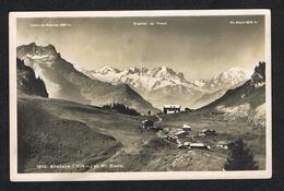 OUDE POSTKAART BRETAYE  ET  MT. BLANC 1942 - VD Vaud