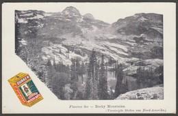 Advertising Quaker Oats - Lake Florence, Utah, C.1902 - U/B Postcard - Advertising
