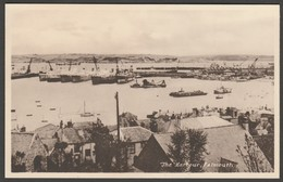 The Harbour, Falmouth, Cornwall, C.1930s - Millar & Lang Postcard - Falmouth