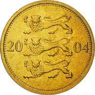 Estonia, 50 Senti, 2004, FDC, Aluminum-Bronze, KM:24 - Estonie