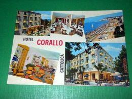 Cartolina Cattolica - Hotel Corallo - Vedute Diverse 1960 Ca - Rimini