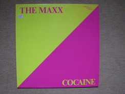 THE MAXX - COCAINE - (CIM 1988) (MAXI) - 45 Toeren - Maxi-Single