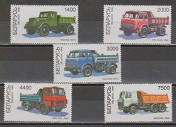 BIELORRUSIA 1998 Dump-trucks From Minsk Automobile Plant. NUEVO - MNH ** - Trucks