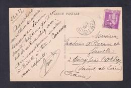 Bateau S/S Commissaire Ramel Paquebot Des Messageries Maritimes (Ed. Grimaud) Annulation Paquebot Point à Pitre - Postmark Collection (Covers)