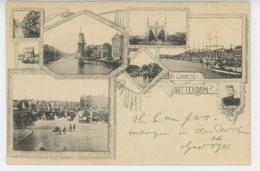 PAYS BAS - ROTTERDAM - Vues Multiples - Carte écrite En 1899 - Rotterdam