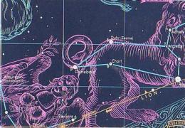 Astrologie        H23        Lion - Astronomy