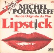 45 TOURS BOF LIPSTICK MICHEL POLNAREFF ATLANTIC 10783 - Soundtracks, Film Music