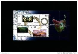 AUSTRALIA - 2004  TASMANIA  MS  OVERPRINTED CHINA STAMP EXPO MINT NH - Blocchi & Foglietti