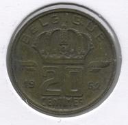 20 Cent 1962 Frans * BOUDEWIJN * - 01. 20 Centimes