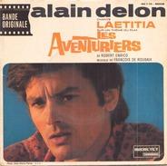 45 TOURS EP BOF LES AVENTURIERS ALAIN DELON LAETITIA DUCRETET THOMSON 460 V 751 - Soundtracks, Film Music