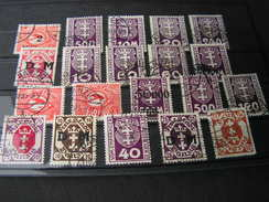 Danzig Polen Loto - Briefmarken