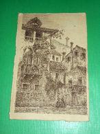 Cartolina Treviso - Via Canoniche - Casa Del Secolo XVI  1928 - Treviso
