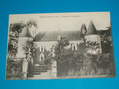 17 ) Montguyon - Chateau De La Madeleine - Année  - EDIT- Barboteau - Autres Communes