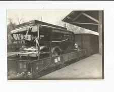 VINDRAC (TARN) PHOTO AUTOBUS GARRIC  ACCIDENTE AU PASSAGE A NIVEAU 1935 - Places