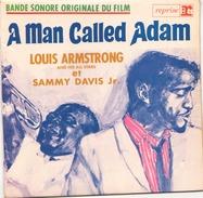45 TOURS EP BOF A MAN CALLED ADAM LOUIS ARMSTRONG ET SAMMY DAVIS Jr REPRISE RVEP 60093 - Soundtracks, Film Music
