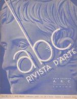 """ABC - RIVISTA D'ARTE - N° 4 - 1939 - LEONARDO VINCI """"POLIEDRICO"""" - G. PELLIZZA - Old Paper"""