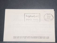 MAROC - Lettre En Port Payé De Tanger Pour Dijon En 1969  - L 8594 - Morocco (1956-...)