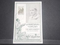 MAROC - Carte Maximum Du Sultan Mohammed V En 1957  - L 8595 - Morocco (1956-...)