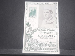 MAROC - Carte Maximum Du Sultan Mohammed V En 1957 - L 8597 - Morocco (1956-...)