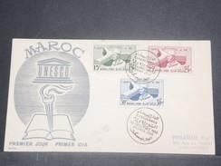MAROC - Enveloppe FDC  En 1958 - L 8598 - Morocco (1956-...)
