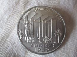 Suisse: Exposition Nationale 1939 Pavillon De L'aluminium - Professionnels / De Société