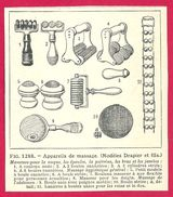 Massage Larousse Médical Illustré 1929 - Vieux Papiers