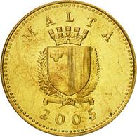 Malte, Cent, 2005, FDC, Nickel-brass, KM:93 - Malta