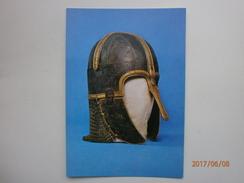 Postcard York Archaeological Trust Anglian Helmet C 750 AD Found Coppergate York My Ref B21324 - Museum