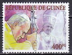 Guinea, 2004 - 400fg Giovanni Paolo II Whit Paolo VI - MNH** - Guinea (1958-...)