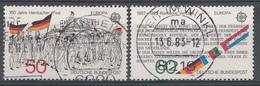 Allemagne Féd. 1982  Mi.Nr: 1130-1131 Europa  Oblitèré / Used / Gebruikt - Gebraucht