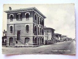 Cartolina Viserba - Viale Colombo 1952 - Rimini