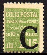 01960 França Colis Postal 115 Com Sobrecarga C NN - Neufs