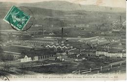 SAINT-ETIENNE-VUE PANORAMIQUE DES USINES BIETRIX ET COUFFINAL ( Fabrication Obus) - Saint Etienne