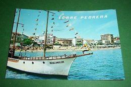 Cartolina Torre Pedrera - Alberghi E Spiaggia Visti Dal Mare 1973 - Rimini