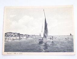 Cartolina Riccione Parziale Veduta Della Spiaggia 1948 - Rimini