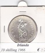 IRLANDA  10 SHILLING   ANNO 1966  COME DA FOTO - Irlanda