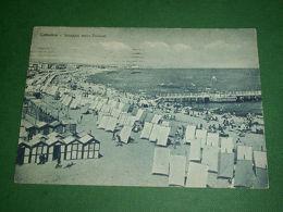 Cartolina Cattolica - Spiaggia Verso Ponente 1949 - Rimini