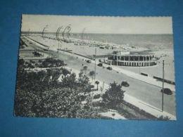 Cartolina Rimini -- Lungomare E Spiaggia 1954 - Rimini
