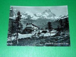 Cartolina Conca Del Breuil - Cervinia 1955 - Italy