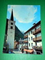 Cartolina Valtournanche ( Valle D' Aosta ) - Particolare 1971 - Italy