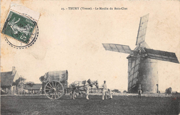 Thury Moulin à Vent Du Bois Chet Canton Saint Sauveur En Puisaye - Autres Communes
