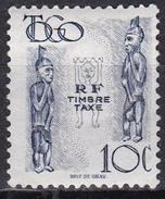 Togo, 1947 - 10c Carved Figures - Nr.J32 MNH** - Togo (1960-...)
