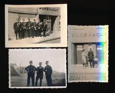 3 FOTO'S RIJKSWACHT +- 8.5 X 6 CM - Police & Gendarmerie