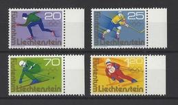 LIECHTENSTEIN . YT 578/581  Neuf ** Jeux Olympiques D'hiver à Innsbruck 1975 - Liechtenstein