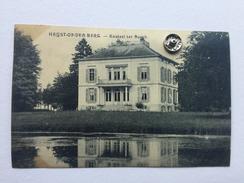 """HEIST-OP-DEN-BERG """" Kasteel  Ter Bosch , Château Bosch """" 1921 Reflet Miroir Du Château Dans L'eau) - Heist-op-den-Berg"""