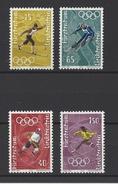 LIECHTENSTEIN . YT 494/497 Neuf ** Jeux Olympiques D'hiver à Sapporo 1971 - Liechtenstein