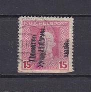 West Ukraine, 1919, Double Overprint- Used - West Ukraine