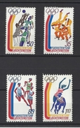 LIECHTENSTEIN . YT 592/595 Neuf ** Jeux Olympiques De Montréal 1976 - Liechtenstein